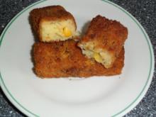 Mais - Schnitzel - Sticks - Rezept