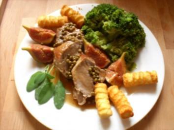 Filet in Feigensauce - Rezept