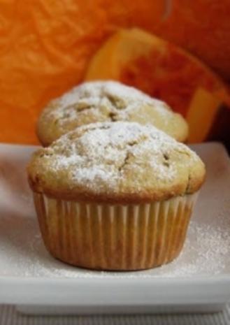 Kürbis Muffins - Rezept