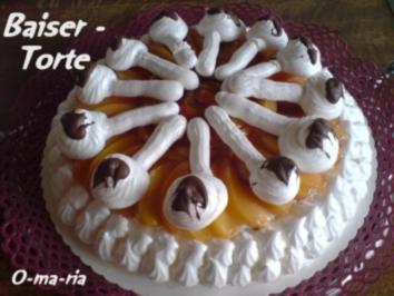Rezept: Kuchen  Baiser - Torte