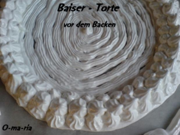 Kuchen  Baiser - Torte - Rezept - Bild Nr. 2