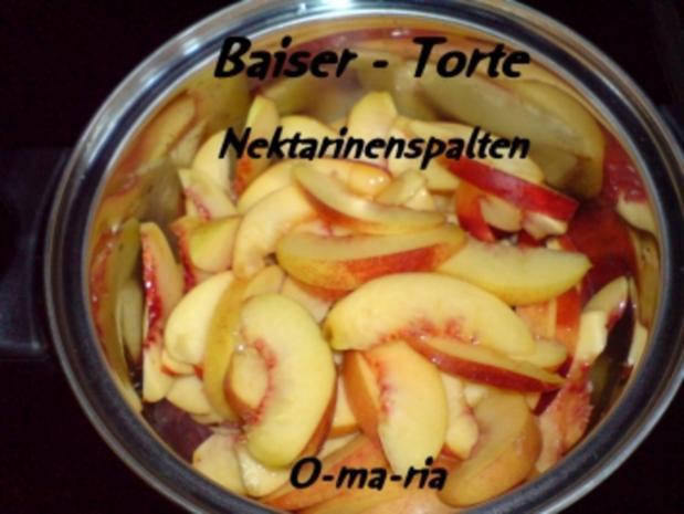 Kuchen  Baiser - Torte - Rezept - Bild Nr. 4