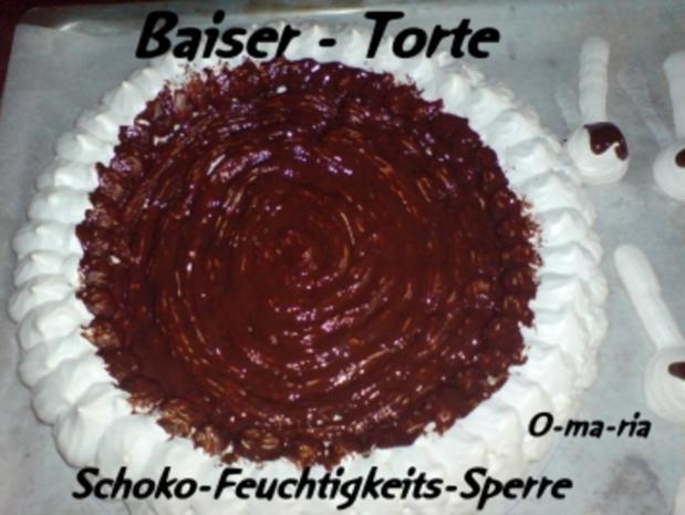 Kuchen  Baiser - Torte - Rezept - Bild Nr. 5