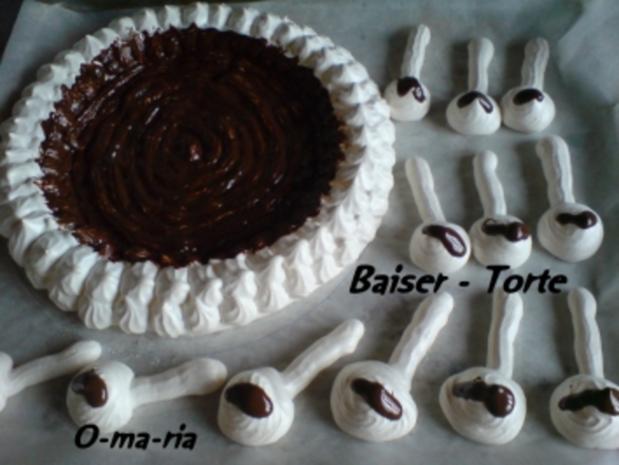 Kuchen  Baiser - Torte - Rezept - Bild Nr. 6