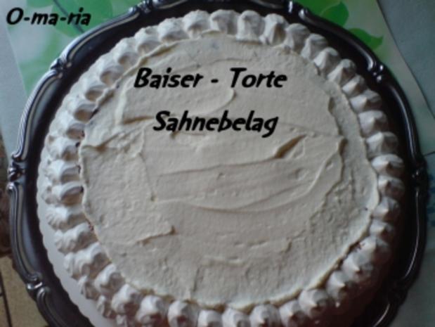 Kuchen  Baiser - Torte - Rezept - Bild Nr. 7