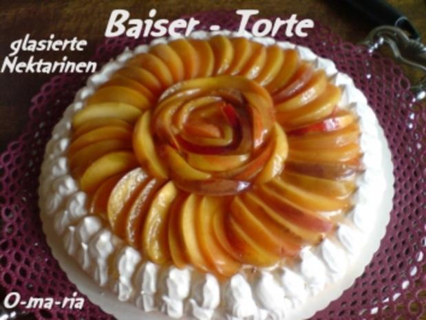 Kuchen  Baiser - Torte - Rezept - Bild Nr. 8