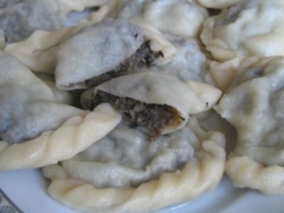 Pierogifüllung Pilz-Sauerkraut - Rezept