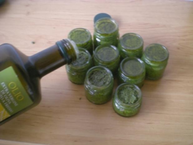 Basilikum  Pesto - Rezept - Bild Nr. 5