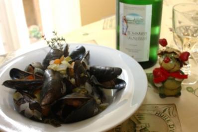 Moules au Vin Blanc - Rezept