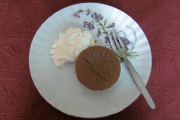 Kleine Schokoladenkuchen - Rezept