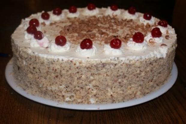 Schwarzwälder Kirsch-Torte - Rezept