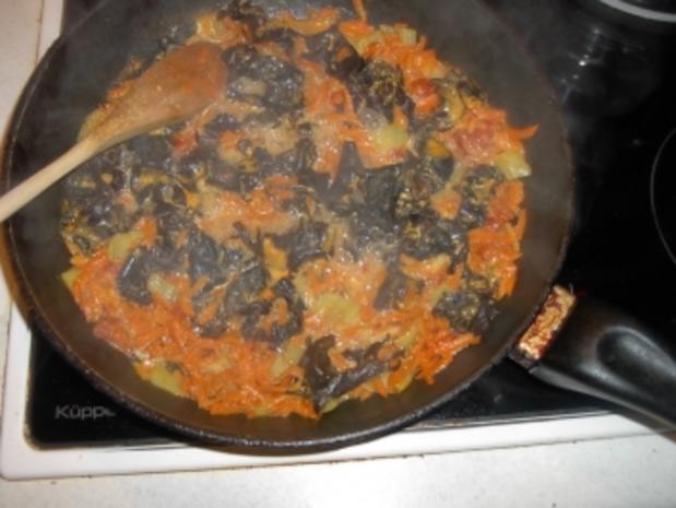Mu Err Pilze mit Nudeln - Rezept - Bild Nr. 3