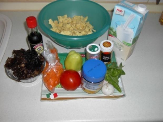 Mu Err Pilze mit Nudeln - Rezept - Bild Nr. 4