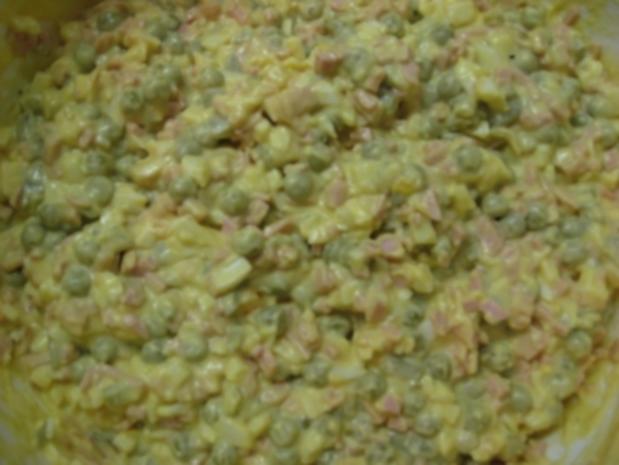 Italienischer Salat (mit selbstgemachter Mayonnaise...) - Rezept - Bild Nr. 4