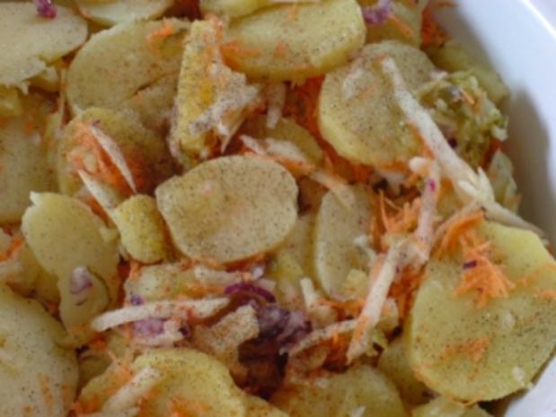 Warmer Kartoffelsalat - Rezept - Bild Nr. 9