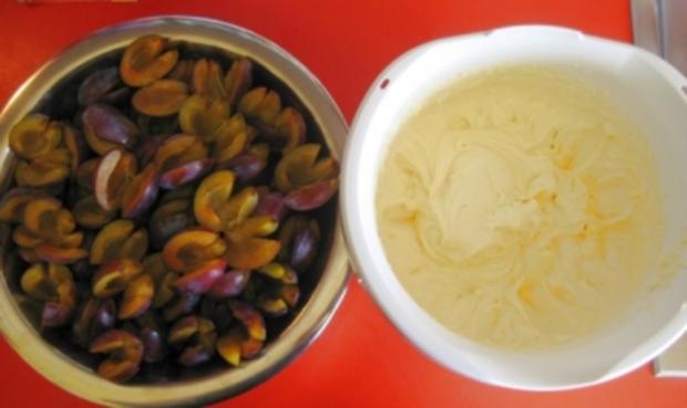 Rezept Zwetschgenkuchen Rührteig zwetschgenkuchen blech mit rührteig 35x40cm rezept kochbar de