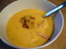 Suppe --- Kartoffelsuppe mit Paprika - Rezept