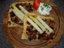 Pikante Kuchen : Spargelpizza - Rezept