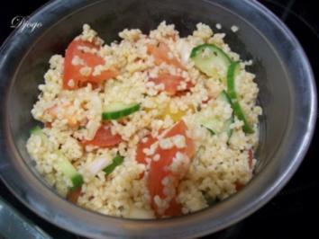 Bulgur Salat - Rezept