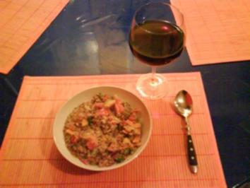 Vegetarisch: Röstbulgurpfanne mit Gemüse - Rezept