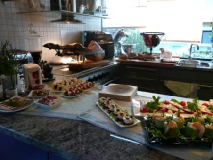 Tapas Party bei Silke Seranoschinken+ Spieße gemischt - Rezept