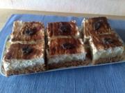 Schoko-Birnen-Kuchen mit Schmand - Rezept