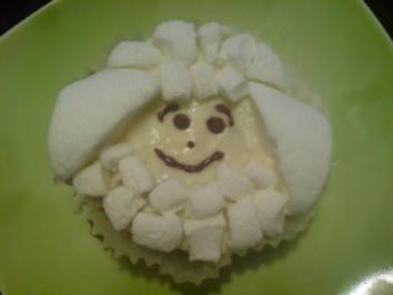 """Deko-Idee: """"Muffin-Schafe"""" - Rezept"""