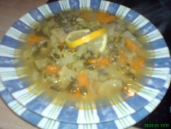Schorbet Ades mit Gemüse - Rezept