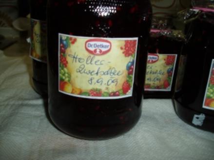 Zwetschken (Pflaumen) - Holler Marmelade - Rezept