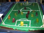 Fußballkuchen - Rezept