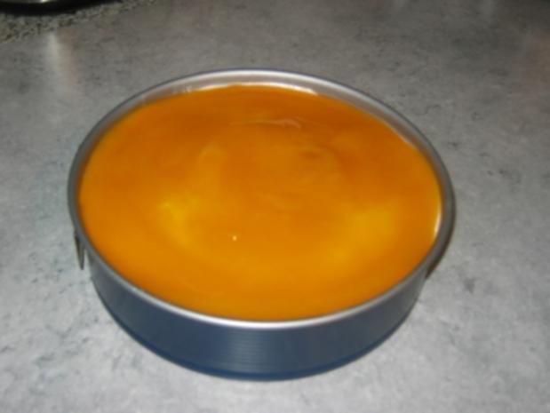 Pfirsich-Maracuja-Torte - Rezept