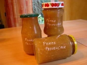 Apfel - Lavendel - Thymian Konfitüre - Rezept