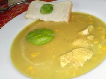 Curry-Puten-Suppe - Rezept