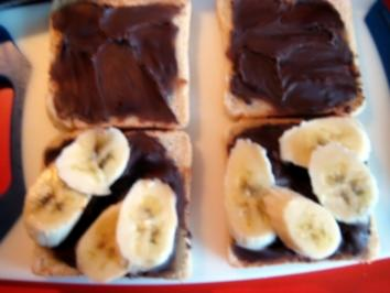 Bananentoast - Sandwich, mal was anderes ! - Rezept