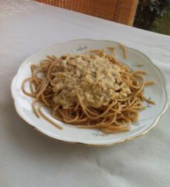 Diät: Vollkornnudeln mit Thunfischsoße - Rezept