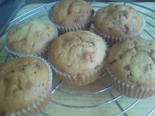 """Muffins """"Sahne-Schokostückchen"""" - Rezept"""