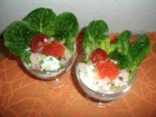 Shrimps-Cocktail in Meerrettichcreme - Rezept
