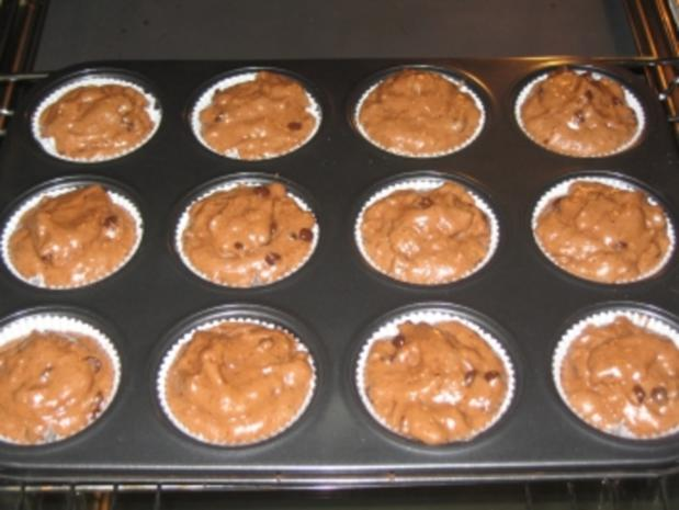 Nuttella-Muffins Variante - Rezept - Bild Nr. 4