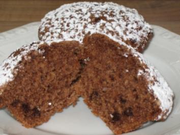 Rezept: Nuttella-Muffins Variante