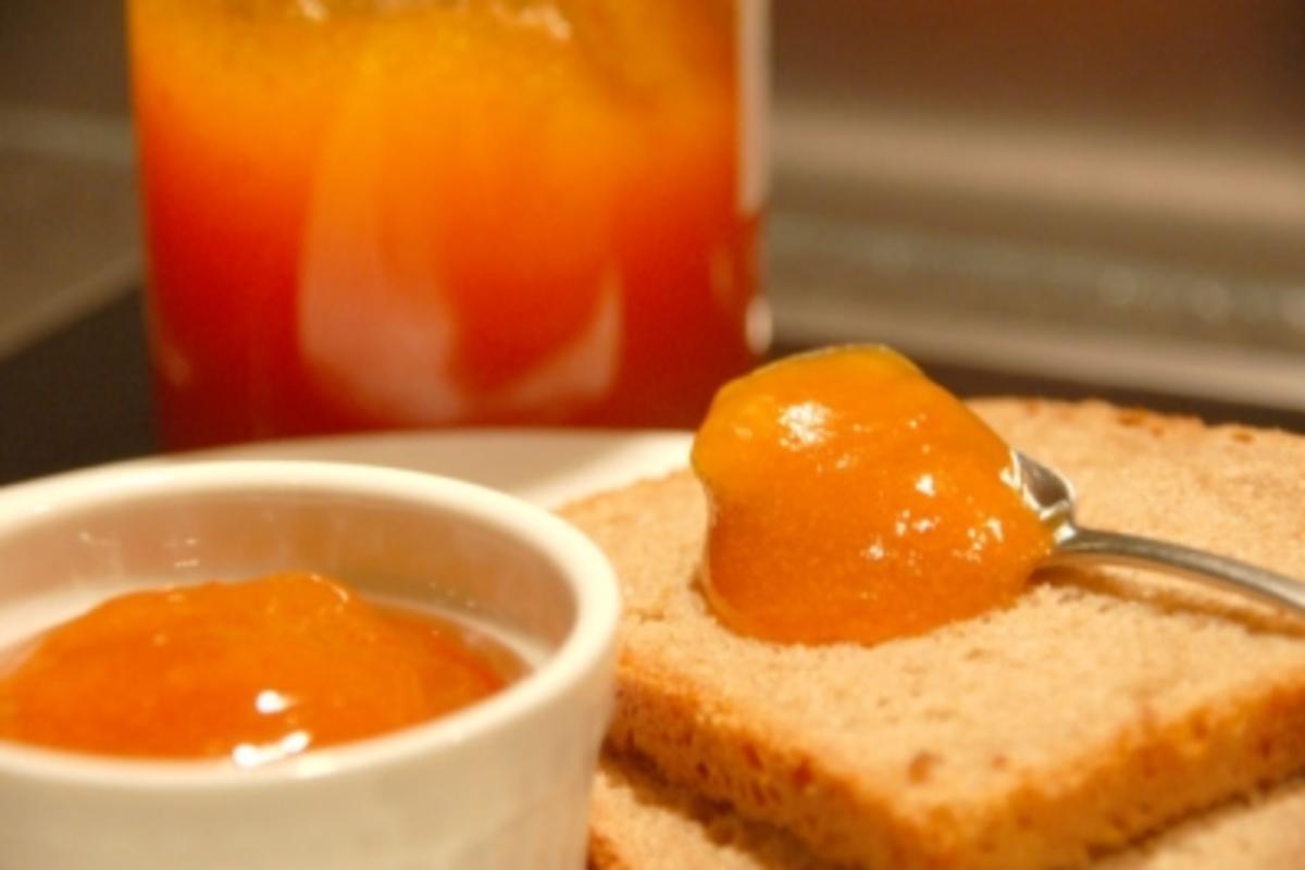 Kürbis-Apfel-Marmelade - Rezept mit Bild - kochbar.de