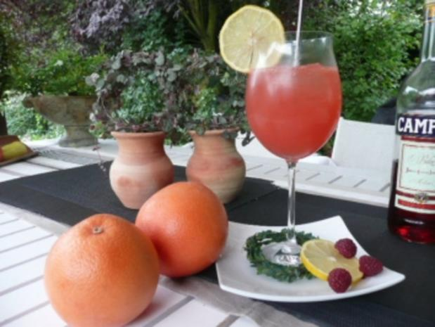 GETRÄNKE/Prosecco-Campari_Grape - Rezept - Bild Nr. 2