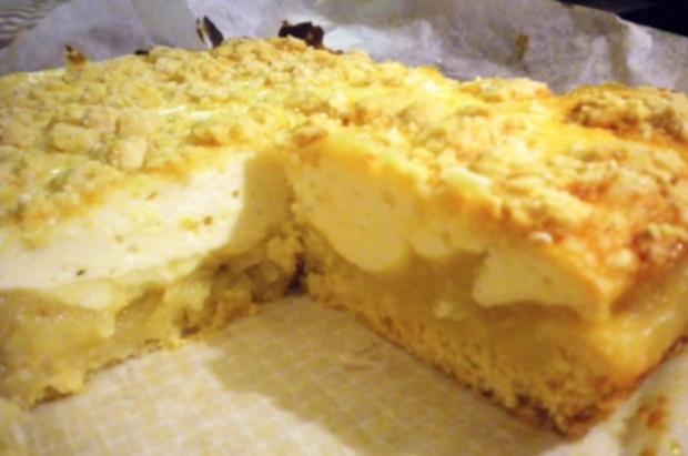 Kuchen: Streusel-Topfen-Apfelmus (geht schnell) - Rezept - Bild Nr. 5