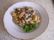 Pilzragout mit Gnocchis - Rezept