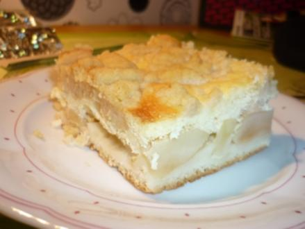 Quark Apfel Kuchen mit Streuseln - Rezept