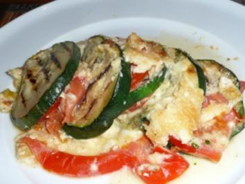 Zucchini-Tomaten-Gratin - Rezept