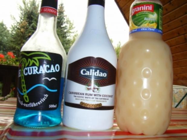 Cocktails: Banana blue - Rezept - Bild Nr. 2