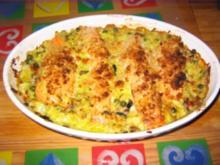 Curry-Lachs_Auflauf - Rezept