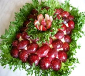 Rezept: Salat mit Weintrauben