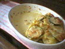 Auflauf mit Kürbis, Kartoffel und Zucchini - Rezept