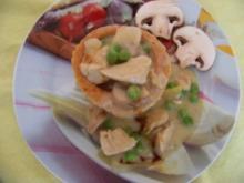 Ragout Fin - Hühnerfrikasse - Rezept